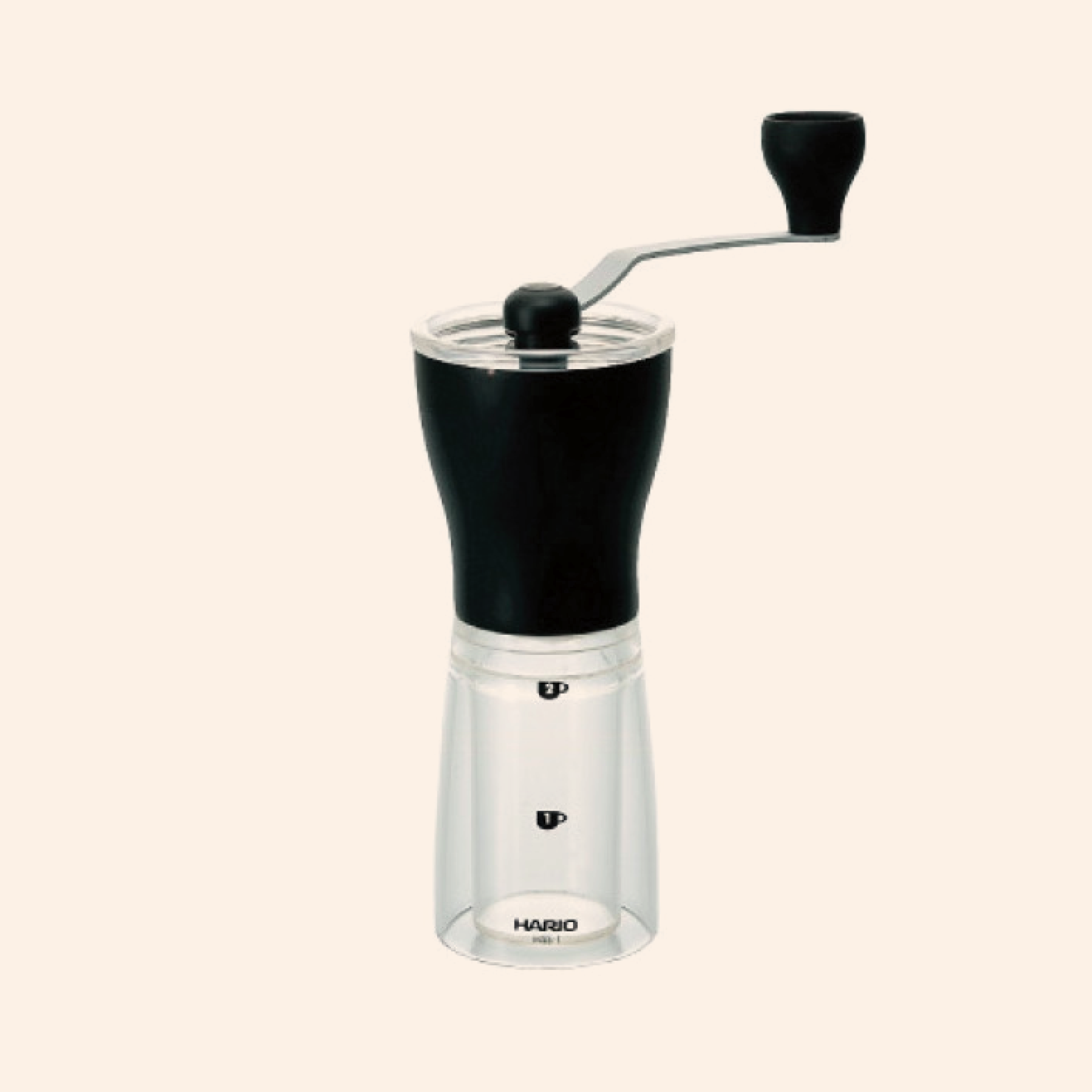 Hario Ceramic Coffee Mill Mini - Slim +