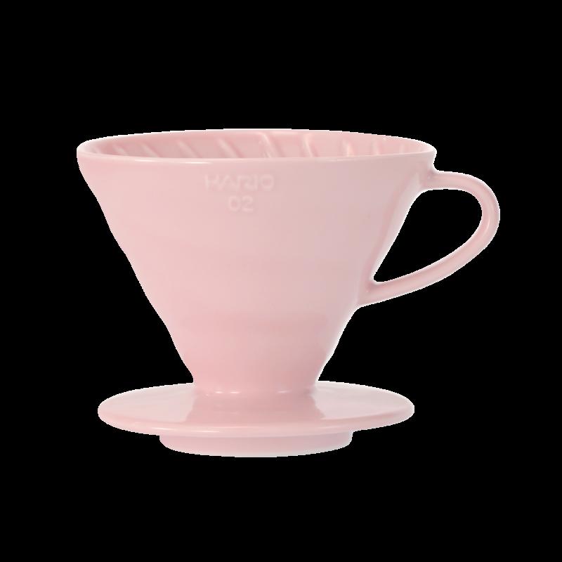 Hario V60 Ceramic Dripper 02 Color-Pink