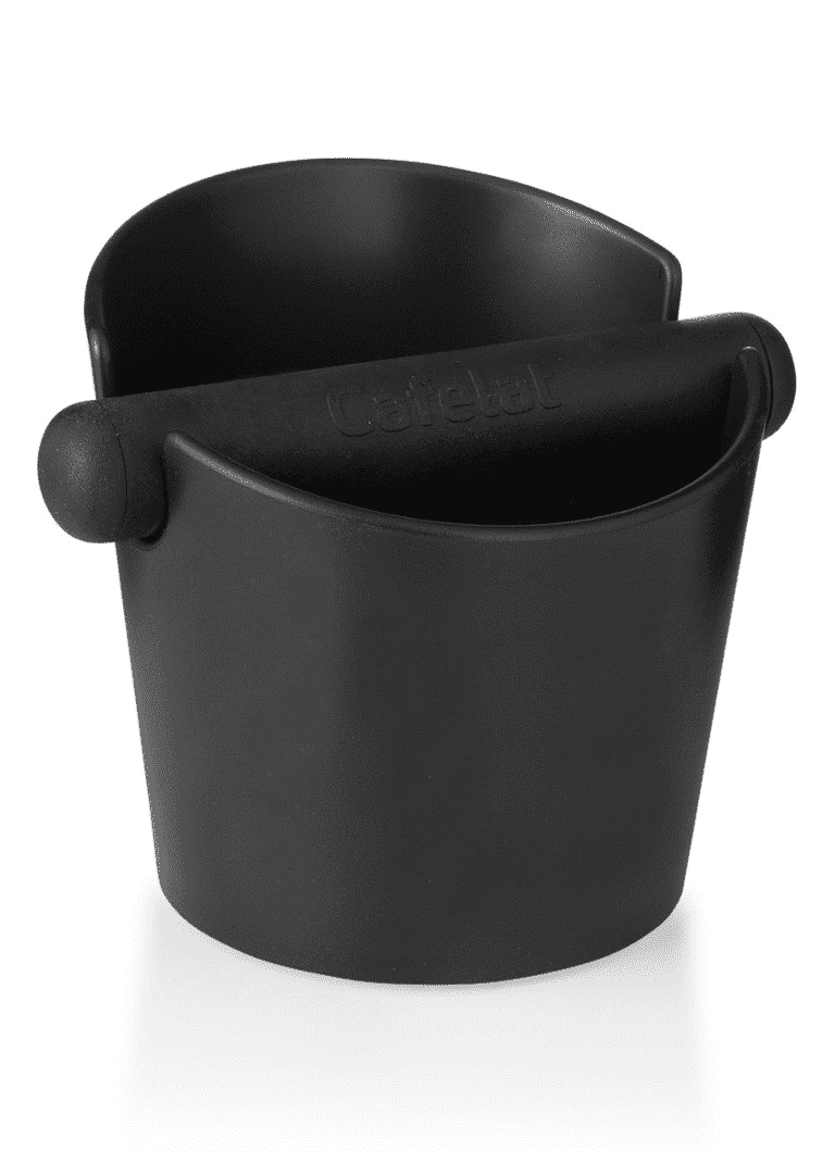 Tubbi Uitklopbak Zwart Cafelat