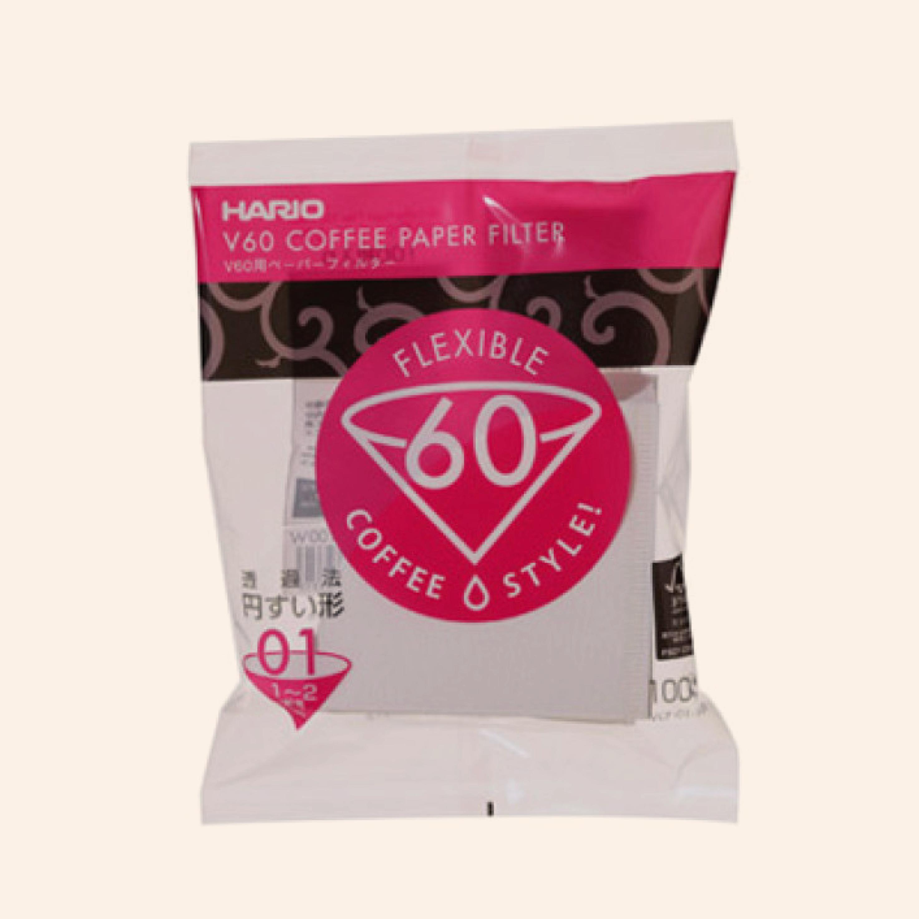 Hario V60 Filter Misarashi - 100 Stuks-02
