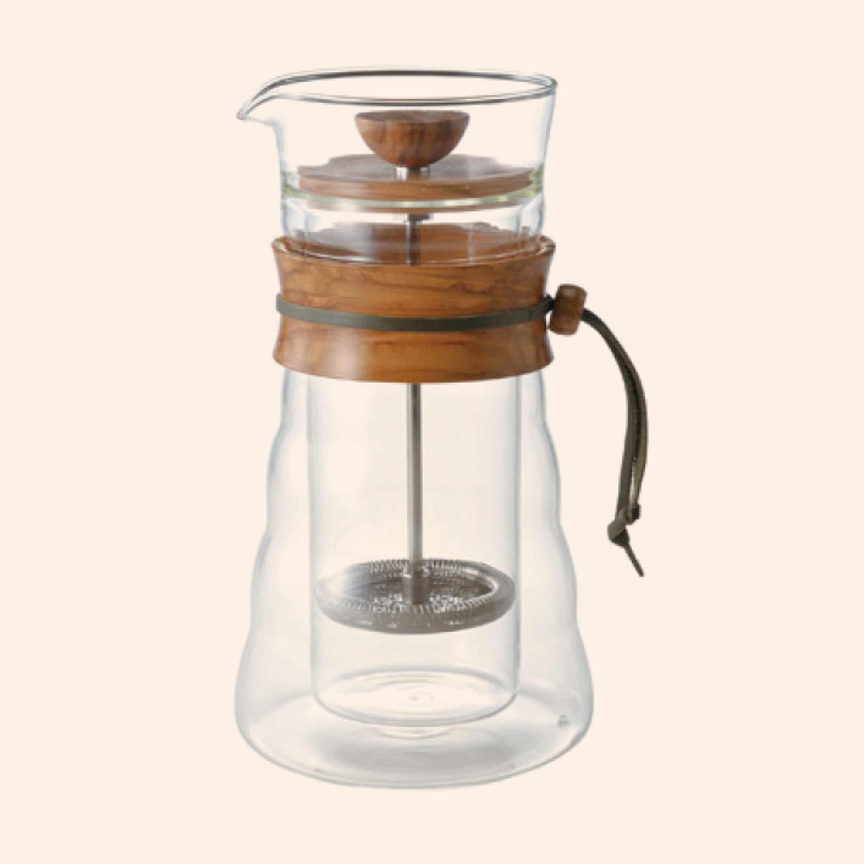 Hario Cafe Press Double Glass