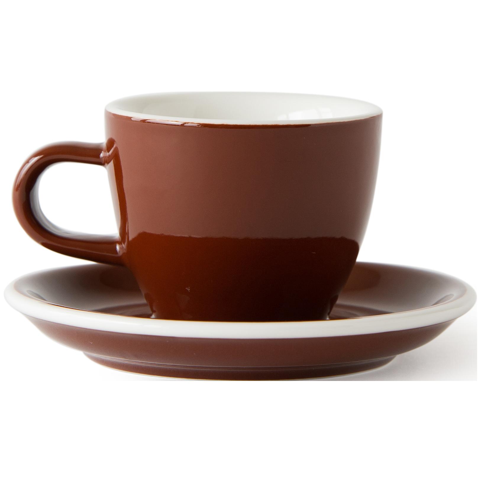 Acme Espresso Serie Demitasse kop en schotel (70ml)