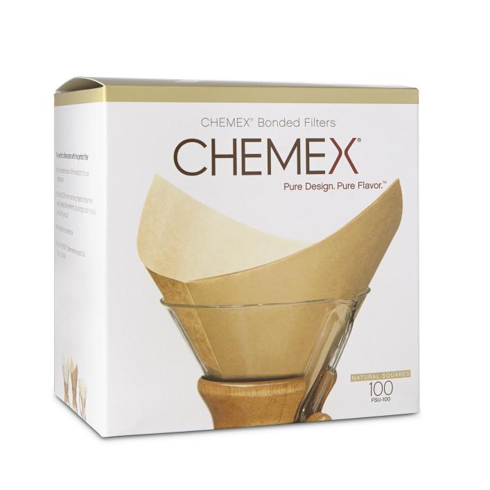 Chemex Natural Filter Squares (Voorgevouwen)
